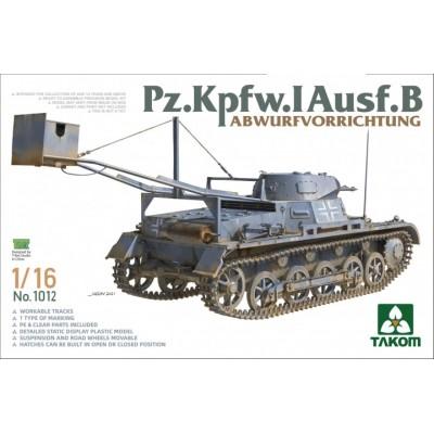CARRO DE COMBATE Sd.Kfz. 101 Panzer I (Demolicion) -Escala 1/16- TAKOM 1012