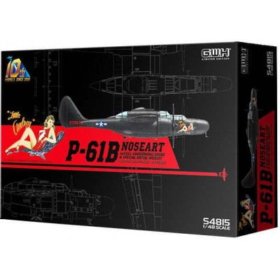 "NORTHORP P-61 B BLACK WIDOW ""NOSEART"" -Escala 1/48- GREAT WALL HOBBY S4815"
