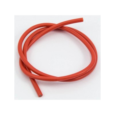 CABLE SILICONA ROJO 12awg (50 cms)