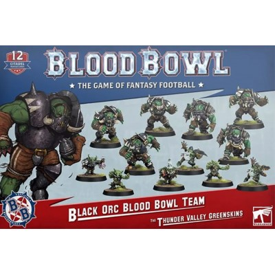 BLOOD BOWL THE THUNDER VALLEY GREENSKINS - GAMES WORKSHOP 202-12