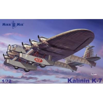 KALININ K-7 -Escala 1/72- Mikro Mir AMP MM-72015