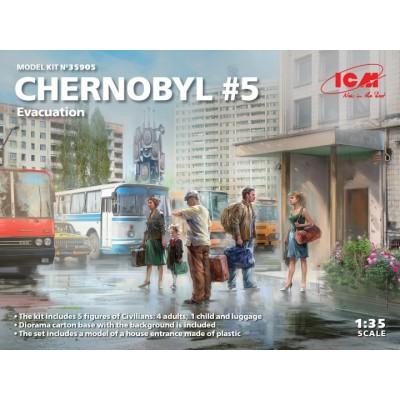 CHERNOBYL Nº5: EVACUACION -Escala 1/35- ICM 35905