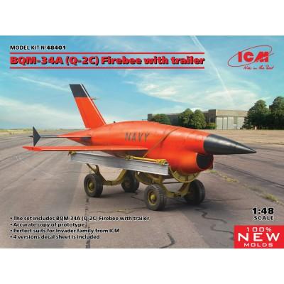 RYAN BQM-34 A (Q-2C) FIREBEE -Escala 1/48- ICM 48401