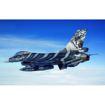 "GENERAL DYNAMICS F-16 FALCON ""NATO Tiger Meet 60th Aniversary (Pegamento & pinturas) -Escala 1/72- Revell 05671"