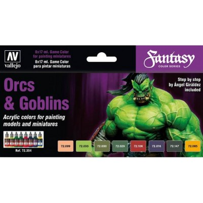 GAME COLOR SET: ORCOS Y GOBLINS
