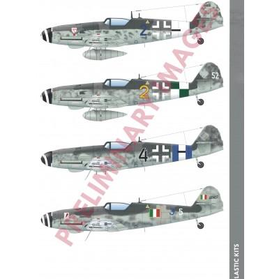 MESSERSCHMITT Bf-109 G10 ERLA -Escala 1/48- Eduard 84174