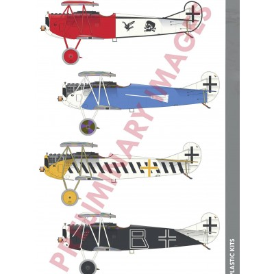 FOKKER D.VII (OAW) -Escala 1/72- Eduard 7407