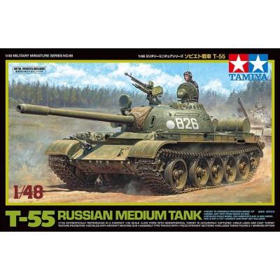 CARRO DE COMBATE T-55 -Escala 1/48- Tamiya 32598