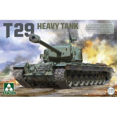 CARRO DE COMBATE T-29 -Escala 1/35- Takom 2143