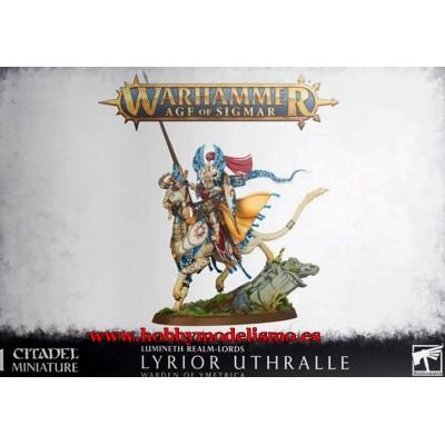 LUMINETH REALM-LORDS LYRIOR UTHRALLE - GAMES WORKSHOP 87-20