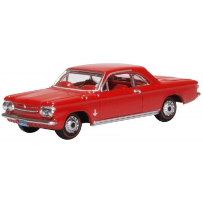 CHEVROLET CONVAIR COUPE 1963 (Rojo) -Escala 1/87 - h0- Oxford 87CH63002