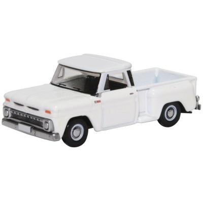CHEVROLET STEPSIDE Pick Up 1965 (Blanco) -Escala 1/87 - h0- Oxford 87CP65005