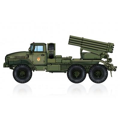 CAMION LANZACOHETES BM-21 GRAD -Escala 1/72- Hobby Boss 82931