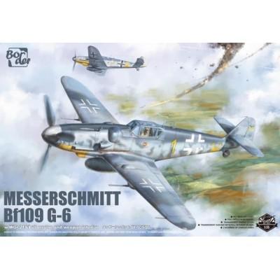 MESSERSCHMITT Bf-109 G-6 -Escala 1/35- Border Model BF-001