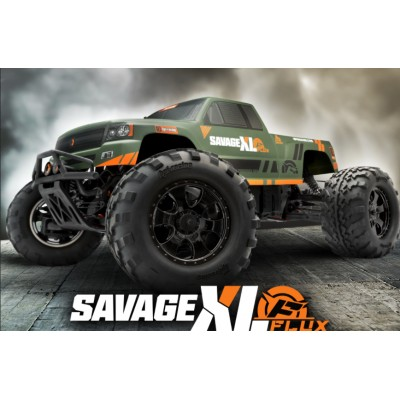 SAVAGE XL FLUX RTR 1/8 4WD Electric Monster Truck 2.4GHz - HPI 160195