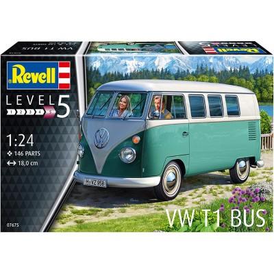 VOLKSWAGEN T1 BUS -Escala 1/24- Revell 07675