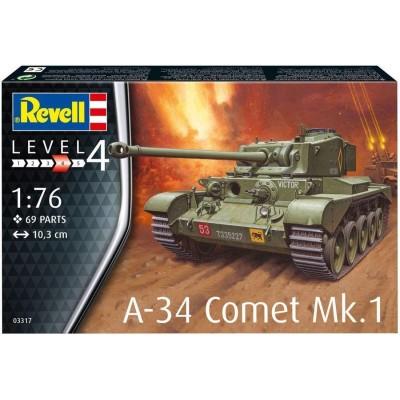 CARRO DE COMBATE A-34 COMET Mk-I -Escala 1/76- Revell 03317