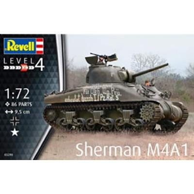 CARRO DE COMBATE M-4 A1 SHERMAN -Escala 1/72- Revell 03290