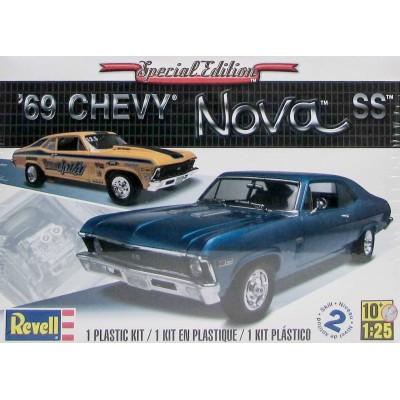 CHEVY NOVA SS (1969) -Escala 1/25- Revell 12098