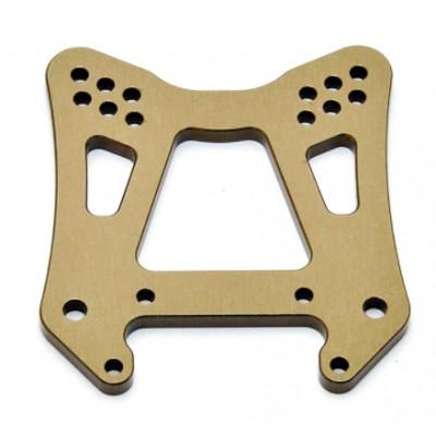 SOPORTE AMORTIGUADOR DELANTERO CNC 4mm - HYPER OP-0121