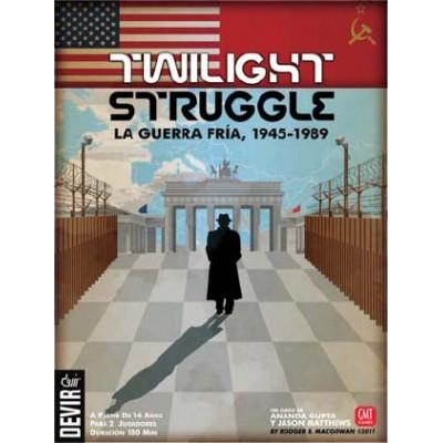 TWILIGHT STRUGGLE - LA GUERRA FRIA 1945-1989 - DEVIR