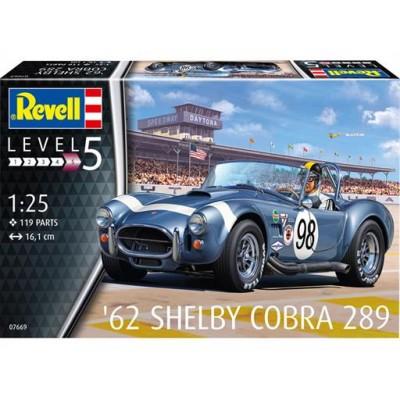 SHELBY COBRA 289 (1962) -Escala 1/24- Revell 07669