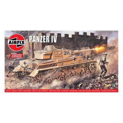 CARRO DE COMBATE SD.KFZ.161 PANZER IV -ESCALA 1/76 - AIRFIX A02308V