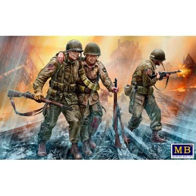 PARACAIDISTAS U.S. ARMY 1944 -Escala 1/35- Master Box 35219