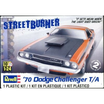 DODGE CHALLENGER T/A `70 ESCALA 1/24 - REVELL 85-2596