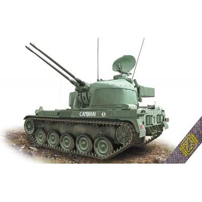 CARRO ANTIAEREO AMX-13 DAC (2 x 30 mm) -Escala 1/72- Ace Model 72447