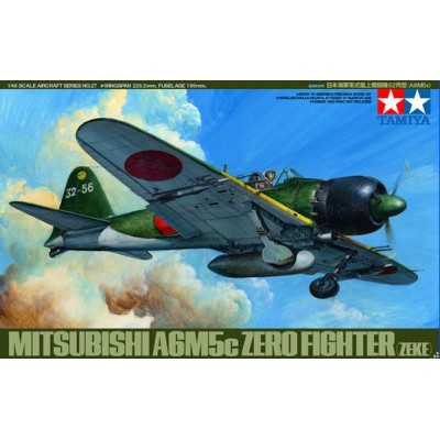 MITSUBISHI A6M5c ZERO- 1/48 - Tamiya 61027