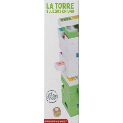 LA TORRE - 3 juegos en uno - aquamarine OCP058