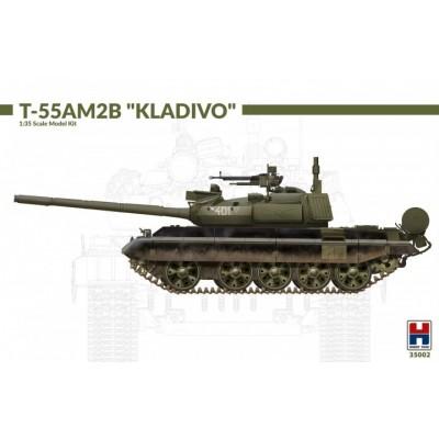 "CARRO DE COMBATE T-55 AM2B ""Kladivo"" -Escala 1/35- Hobby 2000 35002"