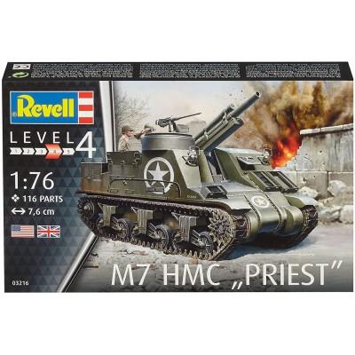 OBUS AUTOPROPULSADO M-7 PRIEST -Escala 1/76- Revell 03216