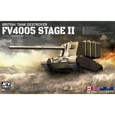 TANK DESTROYER FV4005 STAGE II - ESCALA 1/35 - AFV AF35405