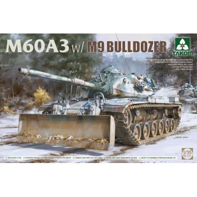 CARRO DE COMBATE M-60A3 CON PALA M9 - ESCALA 1/35 - TAKOM 2137
