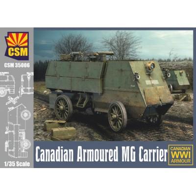 BLINDADO CANADIENSE MG CARRIER WWI - ESCALA 1/35 - CSM 35006