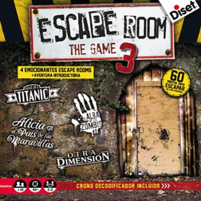ESCAPE ROOM 3 THE GAME - DISET 62332