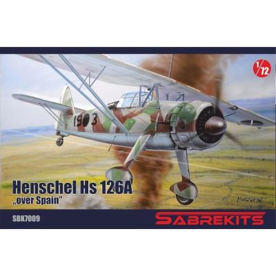 "HENSCHEL Hs-126 ""In Spain"" -Escala 1/72- Sabre Kits SBK7009"