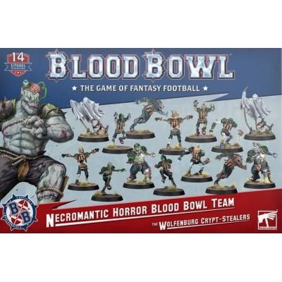 BLOOD BOWL NECROMANTIC HORROR BLOOD BOWL TEAM - The Wolfenburg Crypt-Stealers - Games Worshop 202-07
