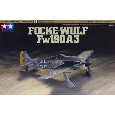 FOCKE-WULF Fw-190 A3 -Escala 1/72- Tamiya 60766