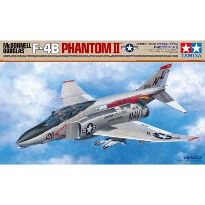 McDONNELL DOUGLAS F-4 B PHANTOM II -Escala 1/48- Tamiya 61121