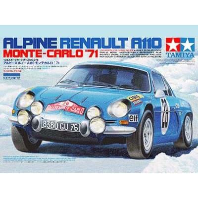 RENAULT ALPINE A110 (MOTE-CARLO 1.971) 1