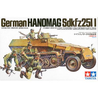 SEMIORUGA SD.KFZ.251/1 Ausf. C & INFANTERIA -Escala 1/35- Tamiya 35020