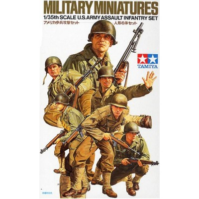 INFANTERIA U.S. ARMY ASALTO -Escala 1/35 - Tamiya 35192