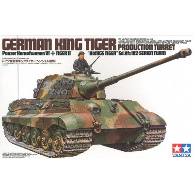 CARRO DE COMBATE SD.KFZ.182 KING TIGER (TORRE HENSCHEL) -Escala 1/35- Tamiya 35164