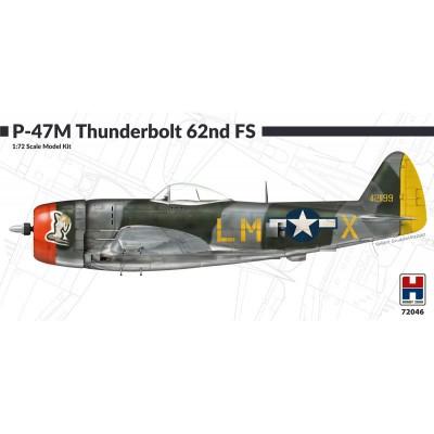 "REPUBLIC P-47 M THUNDERBOLT ""62nd FS"" -Escala 1/72- Hobby 2000 72046"