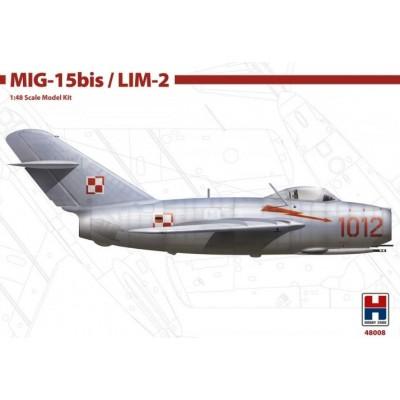 MIKOYAN GUREVICH Mig-15 bis / LIM-2 FAGOT -Escala 1/48- Hobby 2000 48008