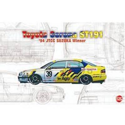 """TOYOTA COROLA ST191 """"JTDD SUZUKA Winner 94"""" -Escala 1/24- NUNU Model Kit PN24020"""