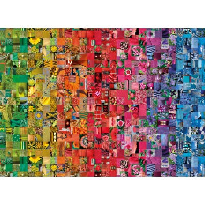 PUZZLE 1000 PZAS COLLAGE COLORBOOM COLLECTION - CLEMENTONI 39595